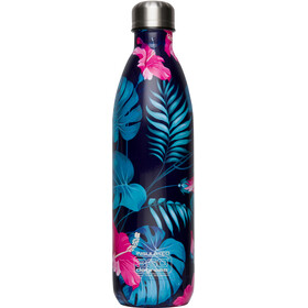 360° degrees Soda Insulated Drink Bottle 0.75 litres flower